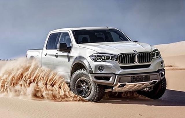 Vì sao hãng BMW sẽ không sản xuất xe ôtô bán tải