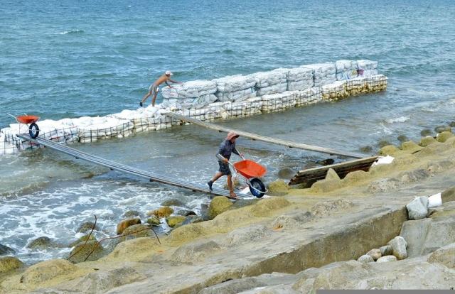 Quảng Ngãi: 2 doanh nghiệp liên danh trúng gói thầu đê biển