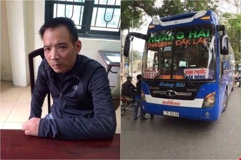 Khởi tố đối tượng trộm xe khách lái lên Hà Nội… chơi