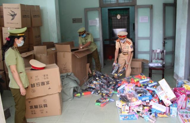 Lợi dụng tình hình dịch bệnh Covid -19 để vận chuyển hàng cấm ở Quảng Bình