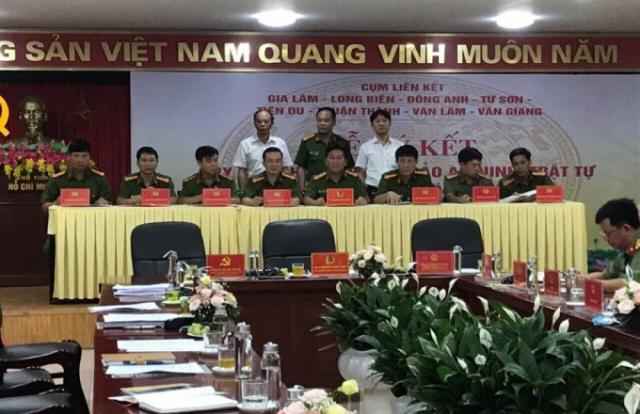 Các quận, huyện, thị xã giáp ranh huyện Gia Lâm liên kết an ninh trật tự
