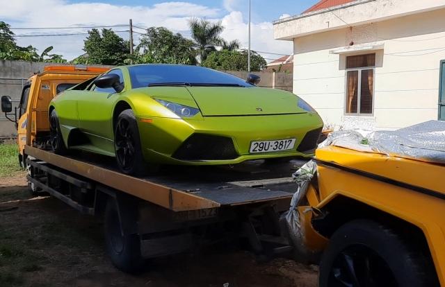 Quảng Bình: Tạm giữ xe siêu sang Lamborghini có dấu hiệu nhập lậu