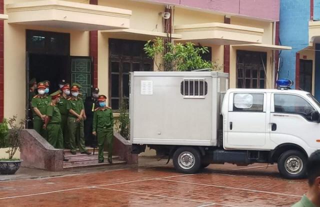 An ninh nghiêm ngặt tại phiên tòa xử Đường 'Nhuệ' đánh người tại trụ sở công an