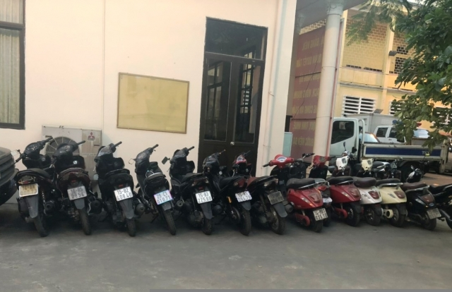 Hải Phòng: Bắt 2 đối tượng gây ra hơn 20 vụ trộm cắp xe máy, xe máy điện
