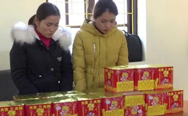 Lạng Sơn: Bắt giữ hai đối tượng vận chuyển pháo lậu