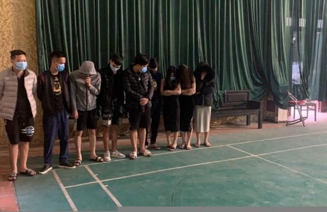 Bắc Giang: Phát hiện 11 đối tượng sử dụng ma tuý trong nhà nghỉ