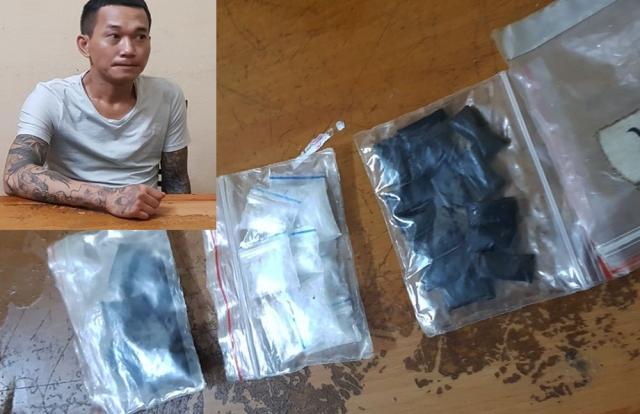 Thanh Hoá: Bắt giữ đối tượng có 4 tiền án đang tàng trữ ma túy