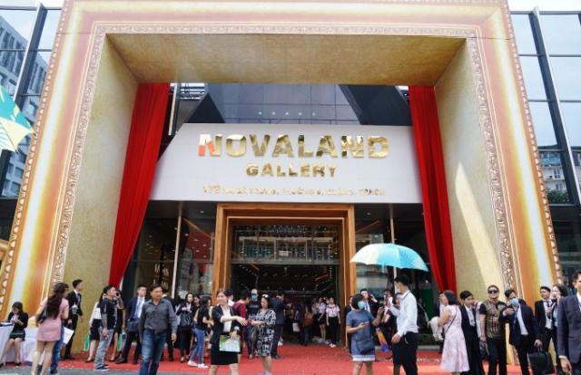 Novaland Gallery chính thức ra mắt trung tâm tại TP Hồ Chí Minh