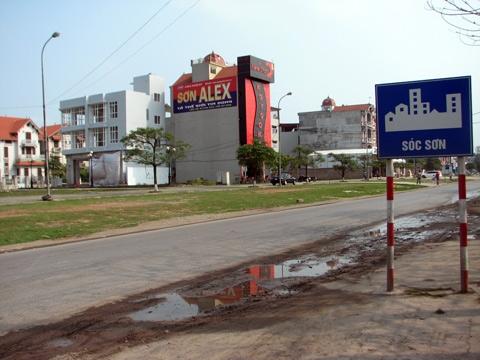 Hà Nội: Phê duyệt hệ số điều chỉnh, giá đất để bồi thường GPMB dự án ở huyện Sóc Sơn