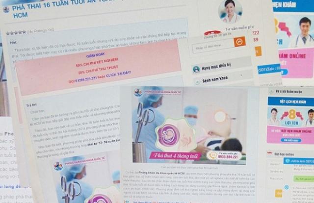 TP Hồ Chí Minh: Nở rộ dịch vụ phá thai cực kỳ nguy hiểm