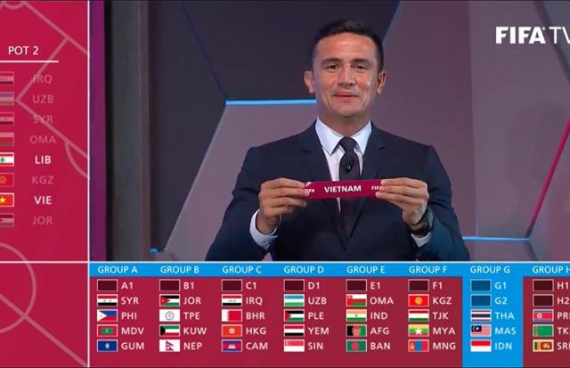"""Vòng loại World Cup 2022 khu vực Châu Á: Đội tuyển Việt Nam rơi vào bảng """"tử thần"""""""