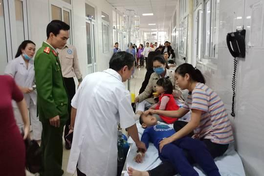 Thanh Hóa: Nhiều học sinh trường mầm non nhập viện nghi do ngộ độc thực phẩm