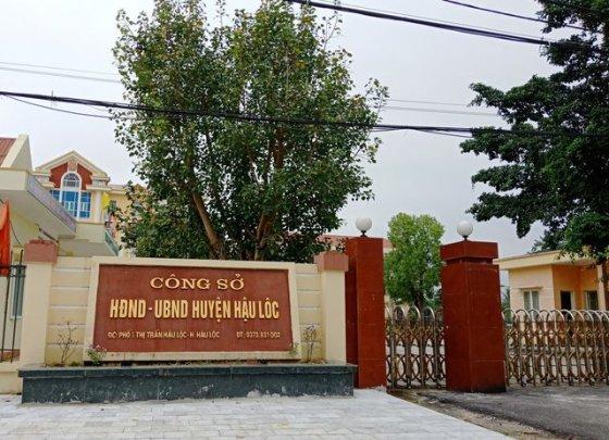 Hậu Lộc (Thanh Hoá): Cựu Phó chủ tịch huyện đánh bạc tại trụ sở được bố trí công việc mới