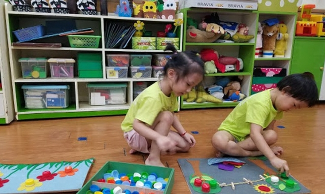 Giáo dục mầm non: Nguyên tắc lựa chọn đồ chơi, học liệu