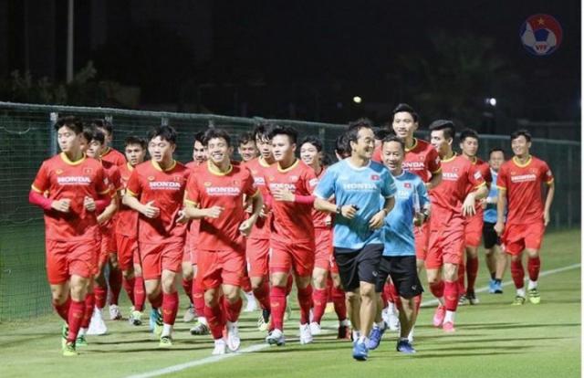 HLV Park Hang Seo chốt danh sách 23 cầu thủ ĐT Việt Nam gặp ĐT UAE