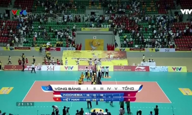 """Giải bóng chuyền nữ Quốc tế VTV Cup 2016: Tuyển Việt Nam vượt qua """"cửa ải"""" Indonesia"""