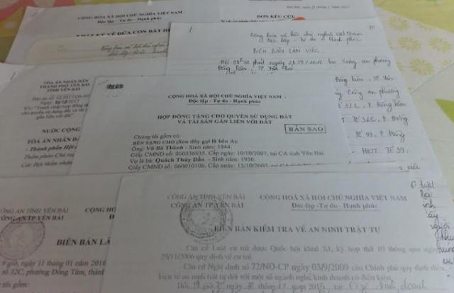 Vụ tranh chấp hợp đồng tặng cho quyền sử dụng đất ở Yên Bái: Tòa phán xử một chiều