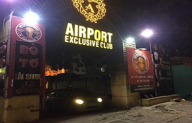 Hà Nội: Điều tra vụ nam thanh niên bị đâm gục trước cổng quán Bar Airport
