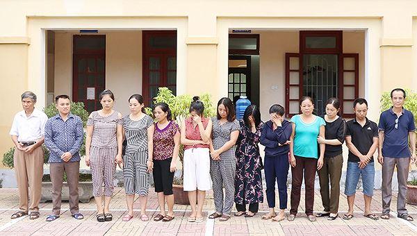 Triệt phá đường dây lô đề do 7 phụ nữ cầm đầu
