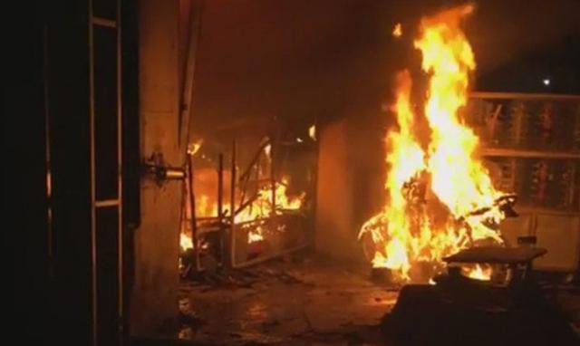 Bắt cụ ông 70 tuổi phóng hỏa đốt 3 căn nhà