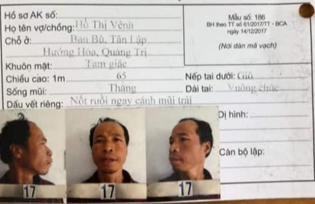Thông báo truy tìm phạm nhân bỏ trốn khi đang đi cải tạo