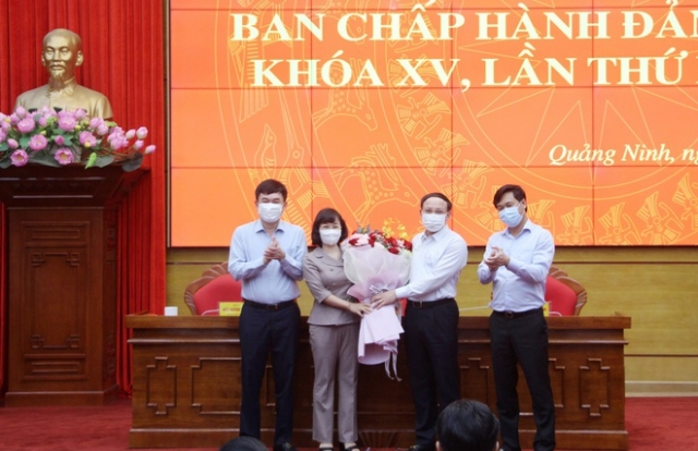 Quảng Ninh có tân Phó bí thư Tỉnh ủy