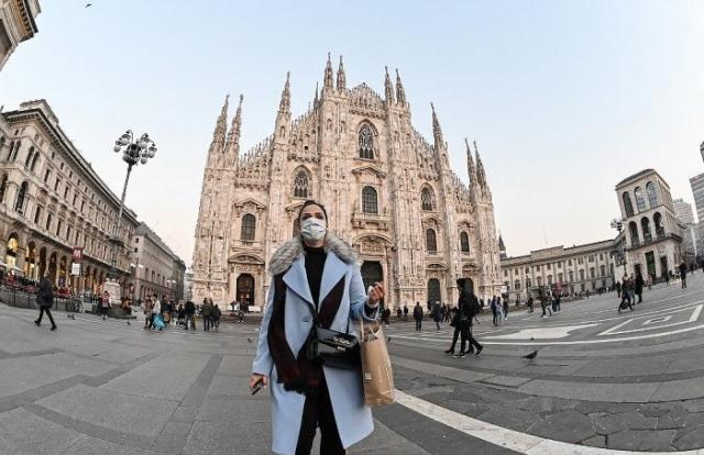Số ca nhiễm tăng thấp nhất từ khi phong toả, Italia tuyên bố dịch đi xuống
