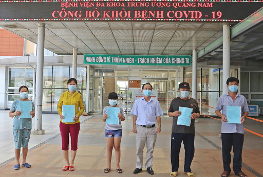 Quảng Nam: Thêm 4 ca mắc Covid-19 được xuất viện