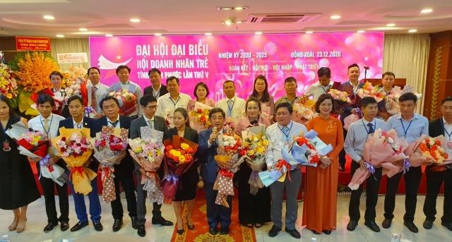 ĐBQH Huỳnh Thành Chung tái đắc cử chức Chủ tịch Hội Doanh nghiệp trẻ tỉnh Bình Phước khóa V