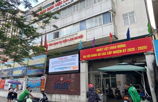 Hà Nội giao dịch gián tiếp trợ cấp thất nghiệp
