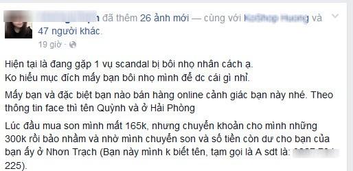 Dùng facebook mạo danh hot girl Thanh Hóa lừa đảo