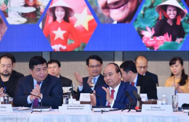 Thủ tướng Nguyễn Xuân Phúc dự Diễn đàn Cải cách và Phát triển Việt Nam