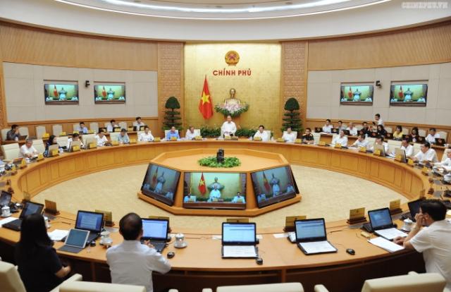 Phiên họp Chính phủ chuyên đề xây dựng pháp luật
