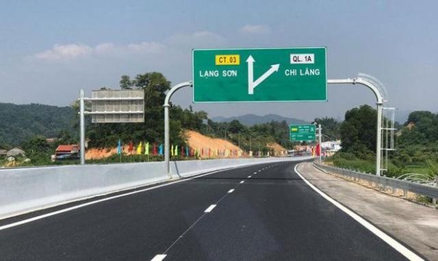 Cao tốc Bắc Giang - Lạng Sơn sẽ phục vụ miễn phí từ 0h ngày 15/1