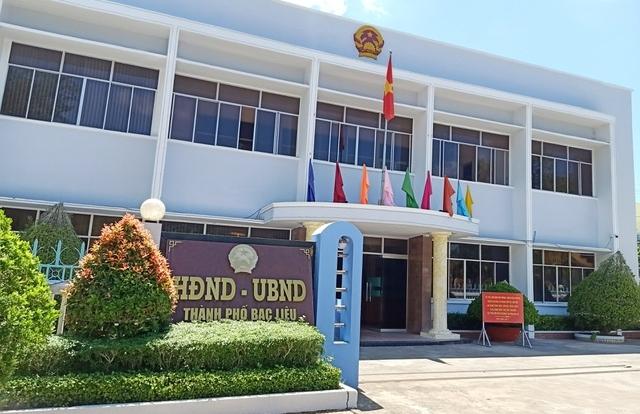 Thống nhất kỷ luật một Phó Chủ tịch Thành phố Bạc Liêu