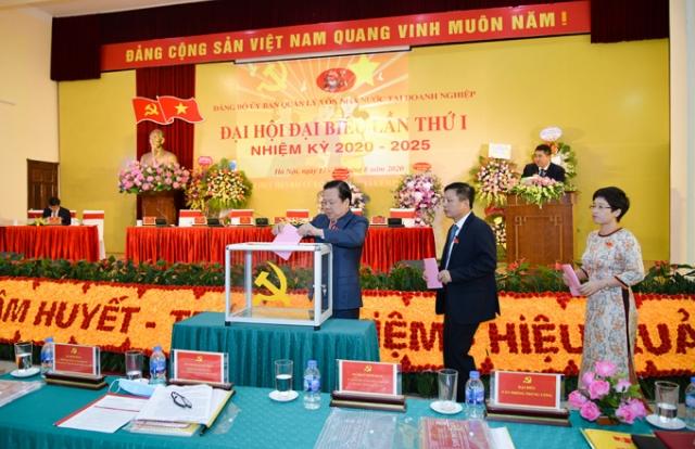 Đại hội Đảng bộ Ủy ban Quản lý vốn nhà nước tại doanh nghiệp thành công tốt đẹp