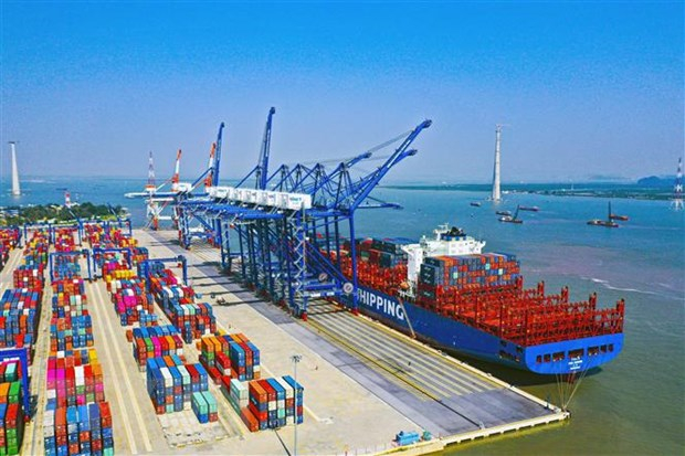 Hateco xây dựng 2 bến container tại Khu bến cảng Lạch Huyện