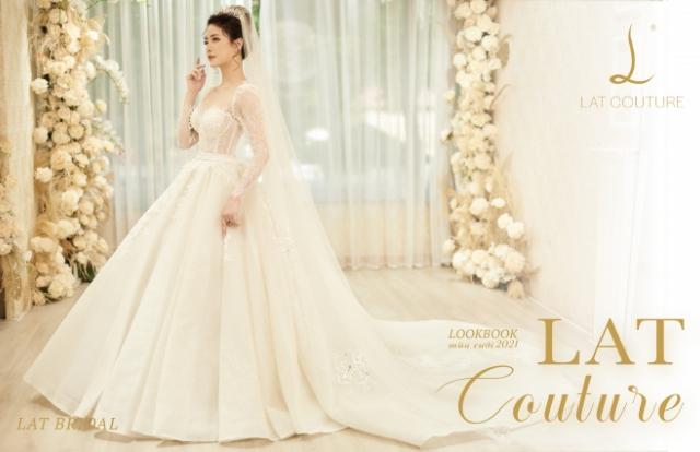 Bộ sưu tập váy cưới LAT COUTURE 2021-2022 của NTK Lan Anh Lê với 7 mẫu váy siêu lộng lẫy