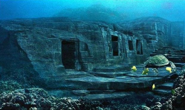 Thành phố cổ bị động đất đánh chìm xuống biển 12.000 năm trước