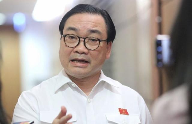 Bí thư Thành ủy Hà Nội Hoàng Trung Hải nói gì về ông chủ Nhật Cường Mobile?