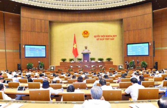 Quốc hội tiến hành phê chuẩn bổ nhiệm nhân sự; thảo luận 2 dự án luật