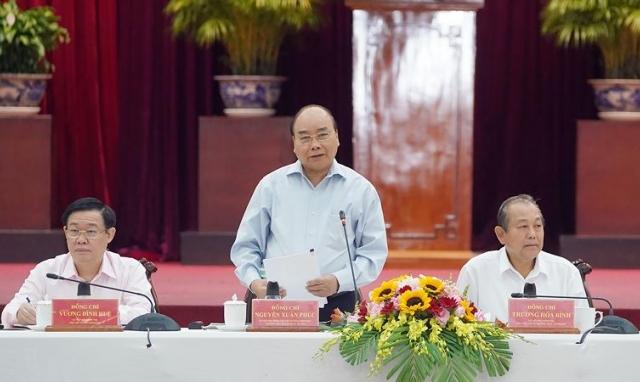 Thủ tướng nghe các tỉnh ĐBSCL và TPHCM góp ý chiến lược, kế hoạch phát triển