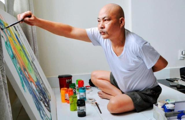 """""""Hồn quê"""" với Họa sĩ Phan Hùng"""