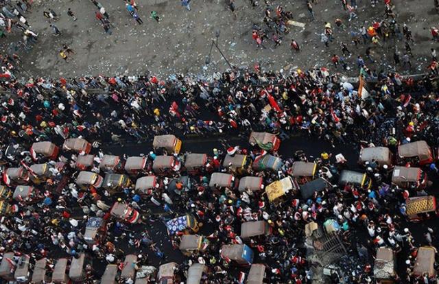 """Phong trào biểu tình mang tên """"cách mạng tuk tuk"""" ở Iraq"""