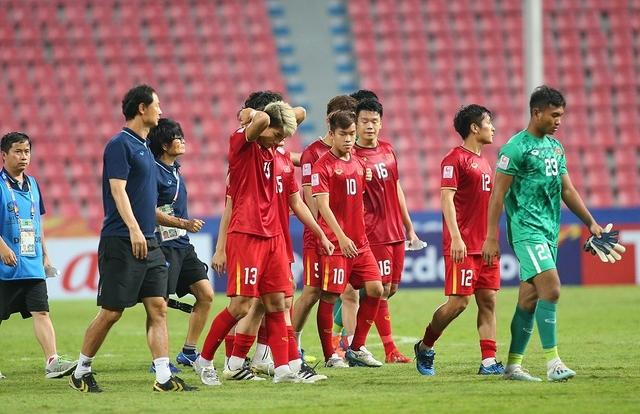 Chùm ảnh động viên HLV Park Hang-Seo và các cầu thủ từ cư dân mạng