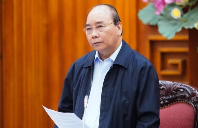 Thủ tướng Chính phủ: Tạm dừng mọi hoạt động hội họp, tập trung trên 20 người