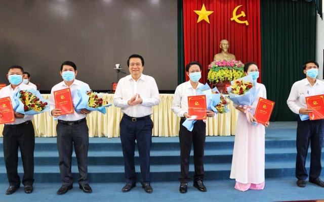 Long An: Chỉ định uỷ viên Ban chấp hành Đảng bộ tỉnh