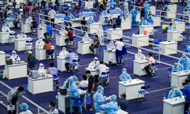 TP Hồ Chí Minh tăng tiến độ tiêm vaccine