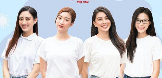 Bộ tứ Hoa hậu làm đại sứ 'ATM F0 chống dịch'