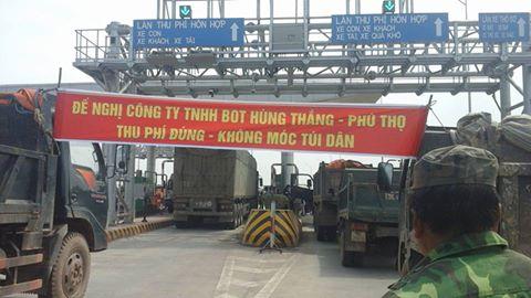 Chính thức miễn, giảm phí một số loại xe qua trạm BOT Tam Nông cho người dân địa phương